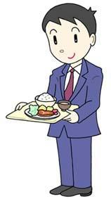 社員食堂・福利厚生・昼食・ランチ・セルフサービス