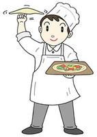 ピザ職人・ピザ屋さん・宅配ピザ・ピザ屋店員