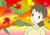 秋・楓・銀杏・落ち葉・紅葉・黄葉
