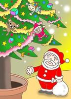 クリスマスツリー・玩具・クリスマスプレゼント
