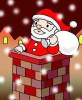 サンタクロース・クリスマスイヴ・聖夜