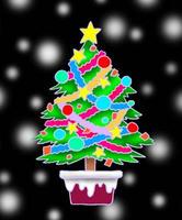 クリスマスツリー・クリスマスイヴ・聖夜