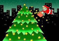 クリスマス・聖夜・プレゼント・クリスマスツリー
