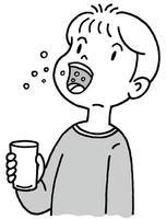 うがい・うがい薬・口腔内除菌・感染予防