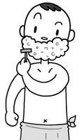 髭剃り・ひげそり・シェービング・剃刀・カミソリ・ウェットシェービング
