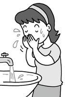洗顔・フェイスウォッシュ・フェイスケア・肌洗浄・清潔