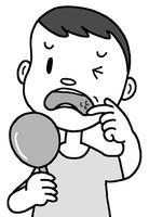 口内炎・口内炎症・できもの・腫れ物・口腔内炎症・口腔内腫れ