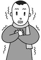寒気・悪寒・震え・高熱・発熱・体調悪化・体調不良