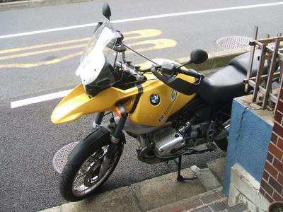 サビ放題のバイク