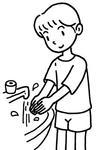 手洗いの励行.2