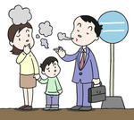 喫煙マナー・嫌煙・タバコ・煙草・喫煙