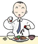 塩分過剰摂取・塩分の摂りすぎ・高血圧・生活習慣病