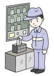 タイムカード・タイムレコーダー・出勤・退勤・出社・退社・勤怠管理