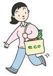 エコ・エコロジー・エコバッグ・マイバッグ運動・環境対策