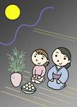 月見・十五夜・中秋の名月・観月・月見団子