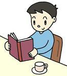 「秋」テーマのイラスト - 「読書の秋・読書週間・読書・秋」のイラスト