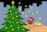 クリスマス・クリスマスイヴ・サンタクロース・クリスマスツリー・プレゼント・聖夜