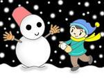 雪国・雪・雪だるま・冬景色・積雪・降雪