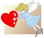 冬のイラスト「バレンタインデー・ハート・プレゼント・ラブ・LOVE」