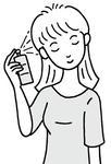 ヘアケア・枝毛防止・ヘアスプレー・毛髪ケア・くせ毛ケア