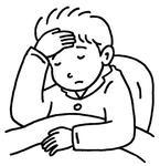 体調不良・疲労・疲労感・体調悪化・発熱・高熱