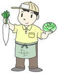 八百屋さん・青果物販売青・果物仕入れ、野菜販売・青果店