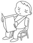 「遠視・眼精疲労・老眼・視力障害・視覚障害・目の病気」のイラスト