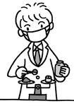 薬剤師・医薬品の調合・調剤・調剤薬局・医薬品販売・薬の服用