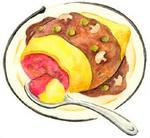 オムライス・ふわふわ玉子のオムライス・洋食
