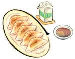 餃子・ぎょうざ・ギョウザ・焼き餃子・点心・中華料理