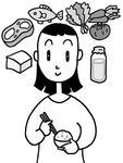 食事バランス・栄養バランス・健康的な食事・健康食事メニュー