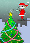 クリスマス・クリスマスイヴ・サンタクロース・聖夜・クリスマスツリー・X`mas