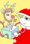 クリスマス・クリスマスイヴ・サンタクロース・聖夜・トナカイ・クリスマスプレゼント