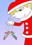 クリスマス・クリスマスイヴ・サンタクロース・聖夜・パペット・恋人