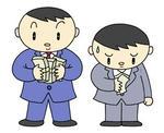 賃金格差・給与格差・収入格差・勝ち組と負け組・格差社会・富裕層と貧困層