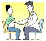 診察・医療面接・視診・聴診・触診・打診・医療行為・内科診察・クリニック