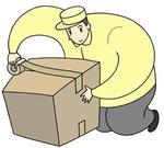 梱包・梱包作業・梱包作業員・ダンボール箱詰め・箱詰め作業・包装・梱包資材