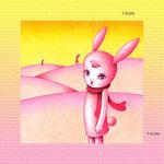 ファンタジー、メルヘン・イラストレーション 「兎の惑星」