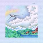ファンタジー、メルヘン・イラストレーション 「鯨が飛ぶ湖畔」