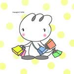 iPad(アイパッド)用壁紙 ・ 恐竜キャラクター・イラストレーション 「ショッピング」