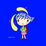 iPad(アイパッド)用壁紙 ・ 人物キャラクター・イラストレーション 「悩みが多い?」
