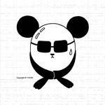 動物キャラクター・イラストレーション 「恥ずかしがり屋」