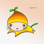 動物キャラクター・イラストレーション 「栗みたいな犬」