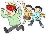 節分・豆まき・豆撒き・厄除け・厄払い・2月3日・立春・鬼・季節の行事