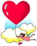 「バレンタインデー・セントバレンタインズデー・2月14日・ハート・愛情・贈り物・プレゼント・女性」のイラスト