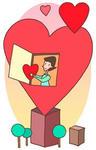 バレンタインデー・2月14日・ハート・愛情・贈り物・プレゼント・女性