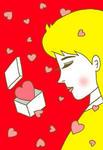 バレンタインデー・チョコレート・ハート・プレゼント・LOVE・女性