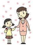 入学・入園・入学式・入園式・新入生・一年生・春の行事・春の歳時記