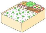 豆ご飯・グリーンピースご飯・ほかほか弁当・ほっかほっか弁当・宅配弁当・特盛り弁当