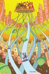 エレベーター・搬送チューブ・真空チューブ・空中都市・未来都市